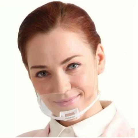 Máscara Profissional Higiênica Estética Hospital Podologia - Foto 3