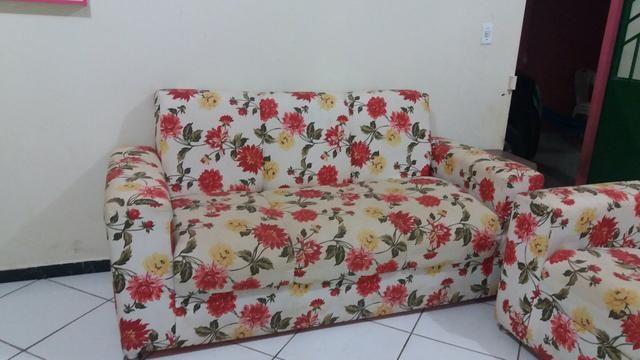 Sofá estampado lindo