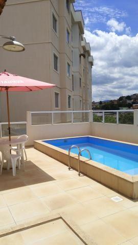 Alugo apartamento de dois quartos bairro São Francisco de Assis, condomínio Onix