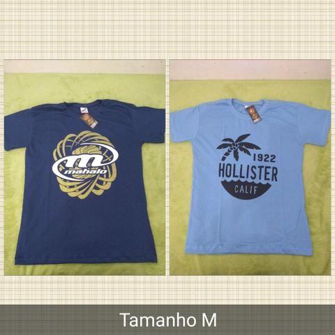 Promoção camisetas varias marcas