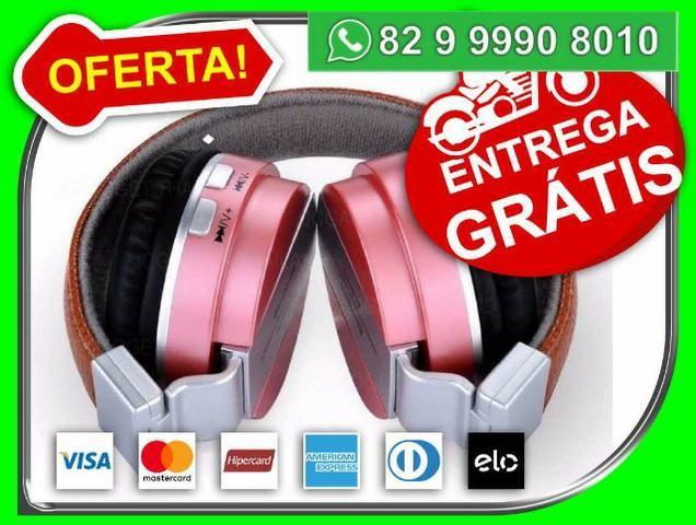 Headphone JBL Bluetooth Couro Pink -Novo- Entrega Grátis