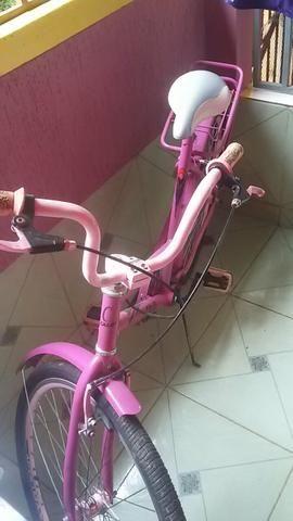 Bicicleta poti caloi rosa