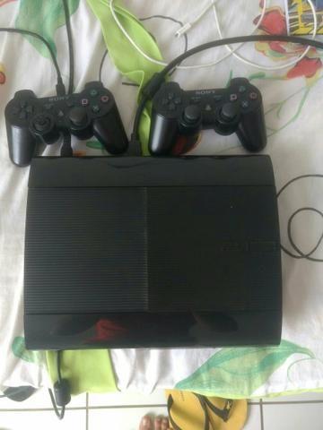 PS3 super slim com jogos, preço a negociar