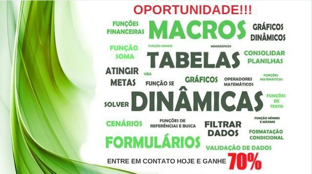 Aprenda Excel Avançado - Balneário Camboriú