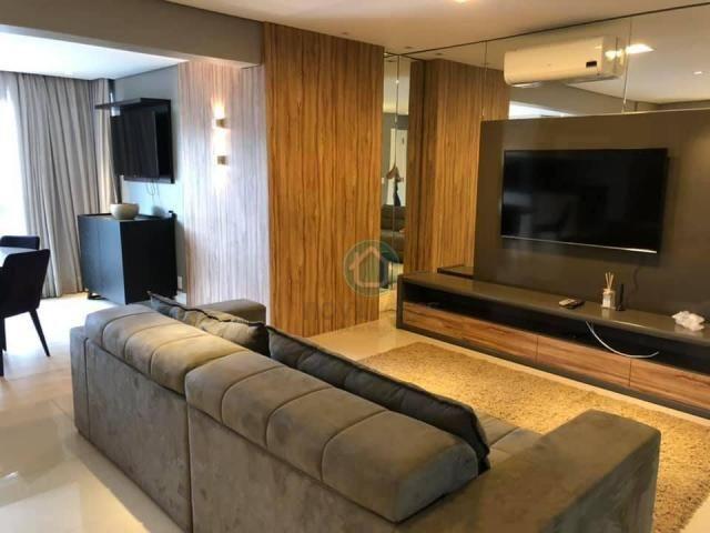 Apartamento com 3 dormitórios à venda, 132 m² por r$ 1.000.000,00 - centro - campo grande/ - Foto 6