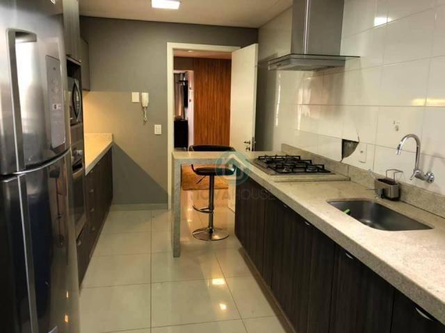 Apartamento com 3 dormitórios à venda, 132 m² por r$ 1.000.000,00 - centro - campo grande/ - Foto 5