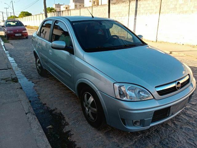 Vendo Corsa Sedã Premium 1.4 2010 completo de Tudo! - Foto 2