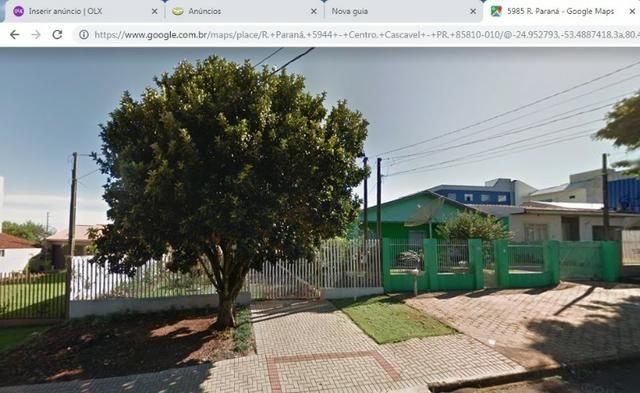 Vendo Terreno com casa Rua Paraná 462,5m² próximo a Prefeitura - Foto 3