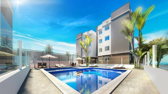 Apartamento em araucária condomínio clube subsídio de até 37 mil