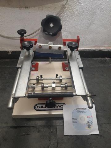 Maquina de silk de caneta