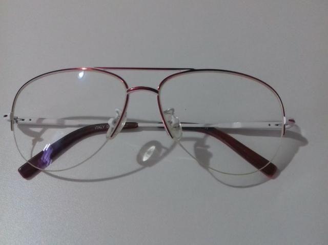 Armação de óculos de grau modelo aviador - Bijouterias, relógios e ... b96f2741c4