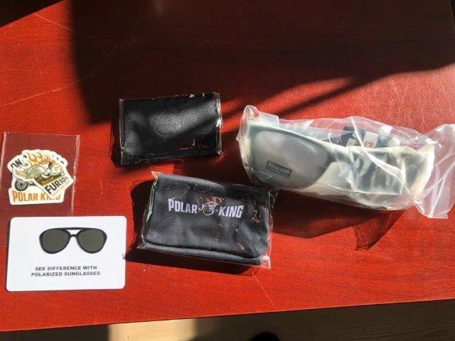 Óculos De Sol Masculino Polarking Polarizado NOVO - Bijouterias ... d24596720d