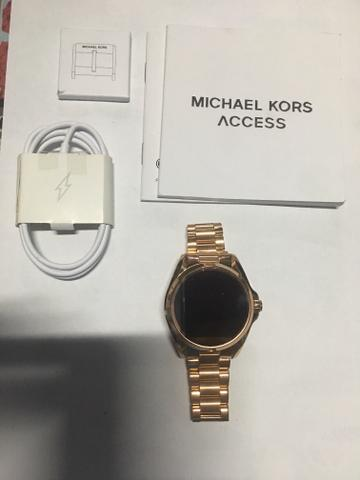 Relógio Michael Kors Mkt5004 Access Touch Digital Rose Gold ... 7c5124c58d
