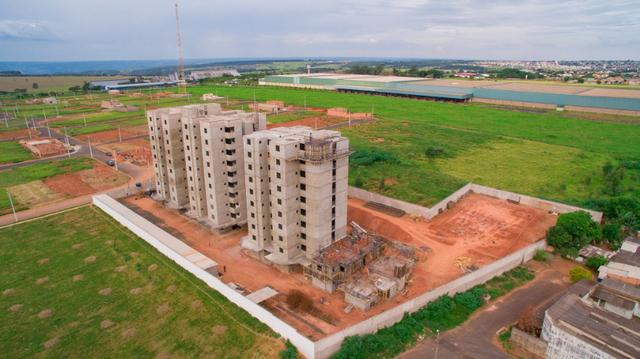 Apartamento Planta Residencial Flamboyant Próximo ao Industrial