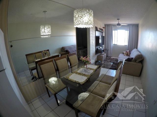 Apartamento 2 Quartos, reformado, com armários, sol da manhã, Resid. Jardim Tropical - Foto 2