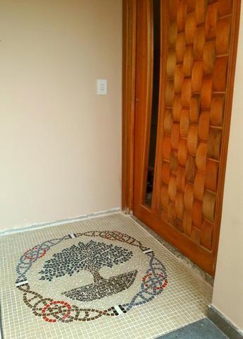 Carpete mosaico, piso mosaico, rosa dos ventos, arvore da felicidade - Foto 3