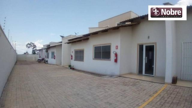 Casa com 2 dormitórios para alugar, 77 m² por r$ 870,00/mês - plano diretor sul - palmas/t