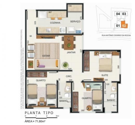 Apartamento Residencial ? venda, Caiçara, Belo Horizonte - AP0223. - Foto 8