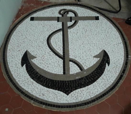 Peixe Mosaico, mosaico artistico, fundo de piscina, piscina, desenho piscina - Foto 4