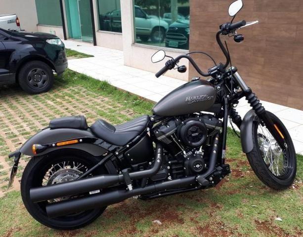 Street Bob 2018 - Harley - novíssima