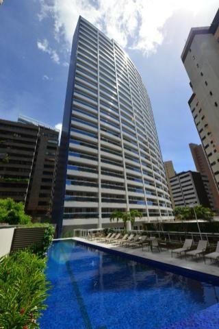Flat no mais novo edifício conceito com linda vista mar !!! - Foto 16