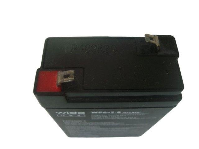 Bateria Selada 6V 2.8Ah - Balanças / Alarmes / Luz de Emergência Etc - Foto 2
