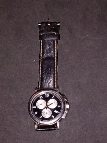 Relógio Montblanc Blanc Summit Xl Crono, Quartzo, Safira - Foto 2