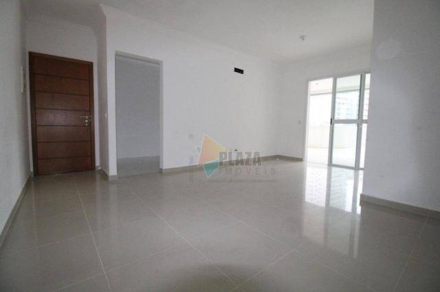 Apartamento para alugar, 100 m² por R$ 3.000,00/mês - Canto do Forte - Praia Grande/SP