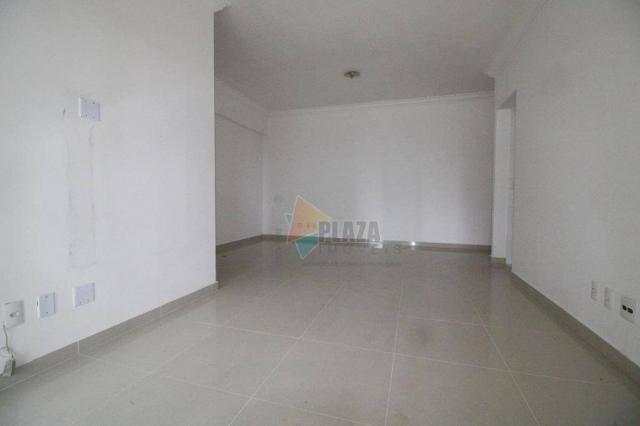 Apartamento para alugar, 100 m² por R$ 3.000,00/mês - Canto do Forte - Praia Grande/SP - Foto 3