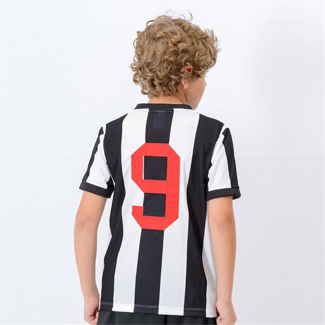 Camisa Oficial Atlético Mineiro Reinaldo Infantil (Branco/Preto: Tam. 8-10) em Uberaba, MG - Foto 2