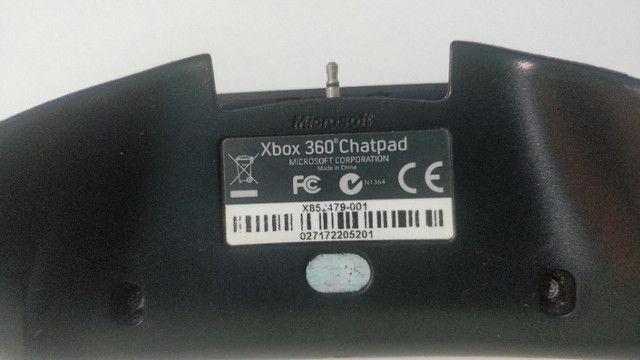 Chat Pad Xbox 360 Original Teclado Para X360 Original - Foto 6