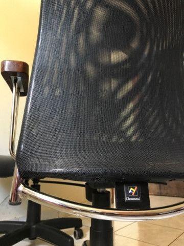 Cadeira Escritório Chromma - Foto 3