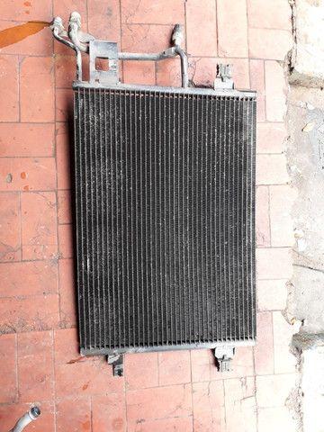 Radiador condensadora do ar passat alemao audi a4 golf