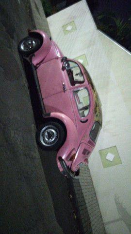 Vendo Fusca rosa