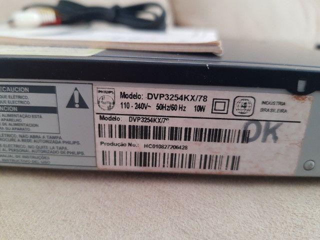 Dvd Player Philips 3254KX/78 (Sem defeito) - Foto 6