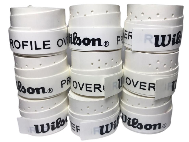 Over Grip Wilson Profile Perforated 2020 - 10 Unidades - Branco