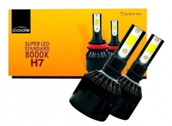 Kit LED H7 + H11 Code Novas Nunca Usada - Foto 2