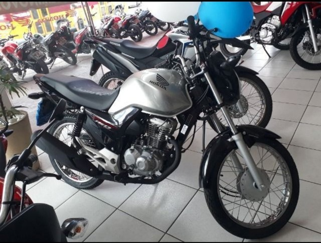 Moto Honda Start 160 Entrada: 1.335 Financiada!!! - Foto 5