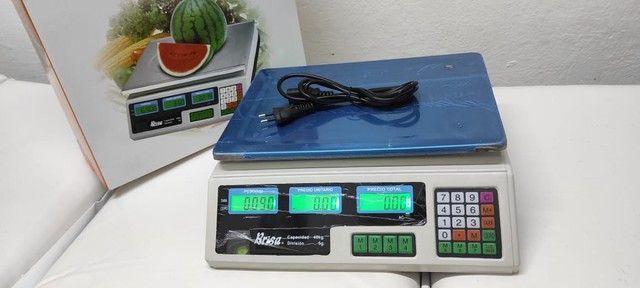 Balança digital eletrônica comercial até 40kg - Foto 4