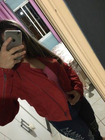Jaqueta Importado Vermelha  - Foto 3