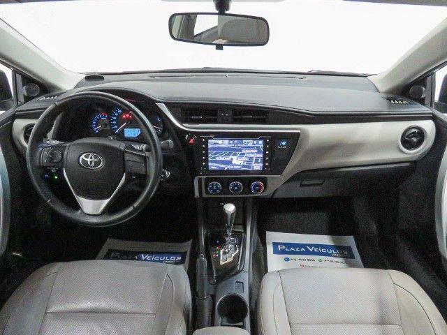 Toyota Corolla 1.8 GLI Upper Flex Automático 2018/2018 - Foto 11