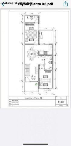 Casa para Venda em Várzea Grande, Nova Fronteira, 2 dormitórios, 1 suíte, 2 banheiros, 2 v - Foto 5
