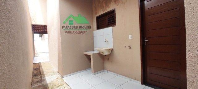 Ampla casa nova com dois quartos pertinho da rádio mar azul em Paracuru - Foto 12