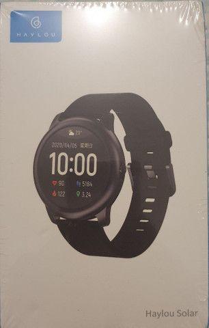 Smartwatch Haylou Solar + Pulseira e Película - Foto 3