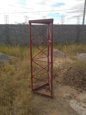 Torre Auto-Postante Galvanizada - 20 metros - Foto 3