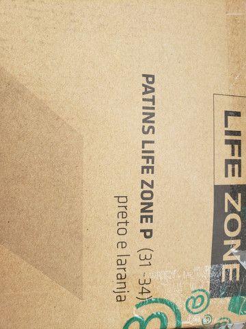 Patins Life Zone R$ 220.00 - Foto 2