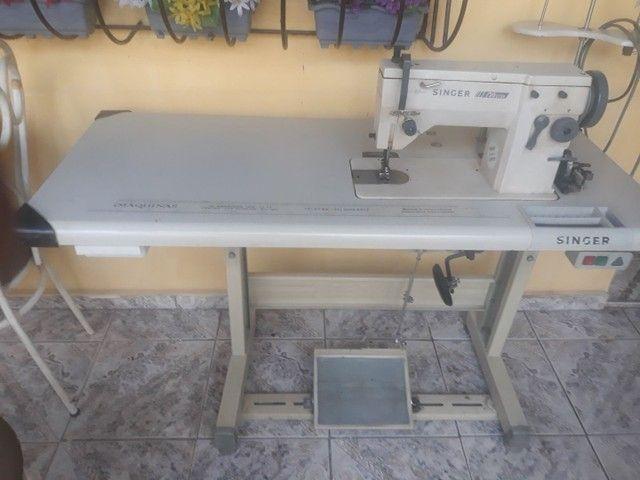 Máquina de costura reta três pontos  - Foto 2