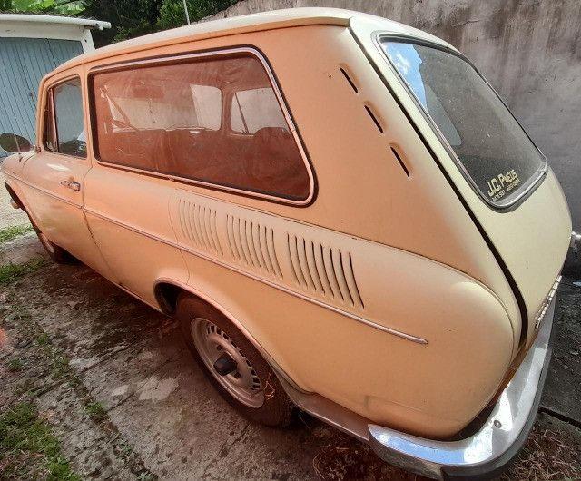 VW Variant 1600 ano 1974 conservada, carro antigo de coleção - Foto 4