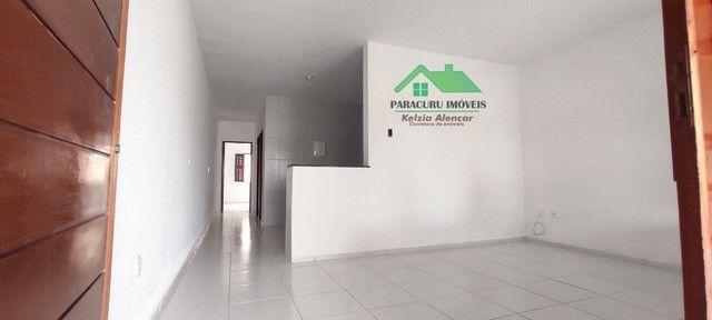 Ampla casa nova com dois quartos pertinho da rádio mar azul em Paracuru - Foto 4