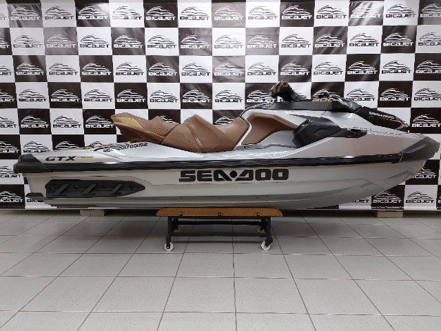 Jet Ski Sea Doo GTX Limited 2018 com áudio - Seminovo - Foto 6